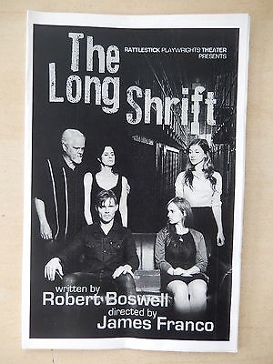 2014 - Rattlestick Playwrights Theatre Playbill - The Long Shrift - Ally Sheedy