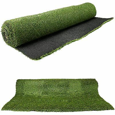 20mm Artificial Grass Roll 1mx4m Garden Lawn High Quality Green Realistic Wide