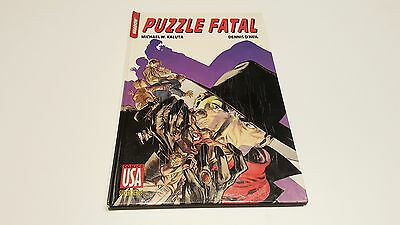 Shadow 1/3 Puzzle Fatal / Kaluta / O'Neil // Comics USA
