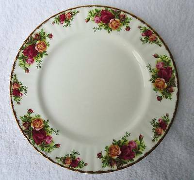 "Royal Albert Old Country Roses 10 1/2"" Bone China Dinner Plate England Back Stam"