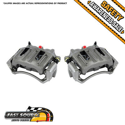 Front Quality OE Brake Calipers Pair Kit FORD F150 2WD 4WD 4X4 LINCOLN BLACKWOOD