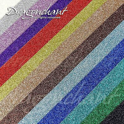 Pack of 5 or 13 Ultra Glitter CARD A4 200gsm Wedding Invitation Cardmaking Paper