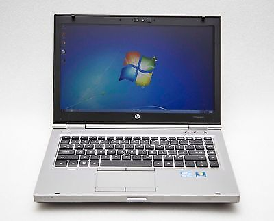 HP EliteBook 8470P Intel Core i5 3rd Gen 2.80GHz 320GB 8GB 14'' Windows 7 Laptop