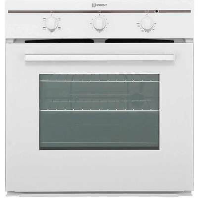 Indesit FIM21KBWH Built In 60cm Single Cavity Electric Single Oven White New