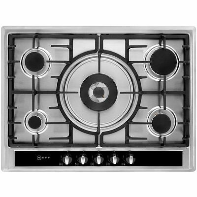 Neff T26S56N0 Built In 70cm 5 Burners Gas Hob Stainless Steel New