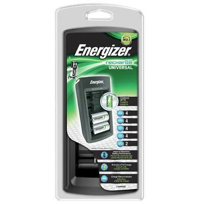 Neuf Energizer Universel Rechargeable AA AAA C D Chargeur ENERUNIVCHG