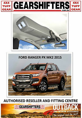 Outback Accessories Roof Consoles 4X4 4Wd Ford Px Ranger Mk2 Dual Cabs 2015 On