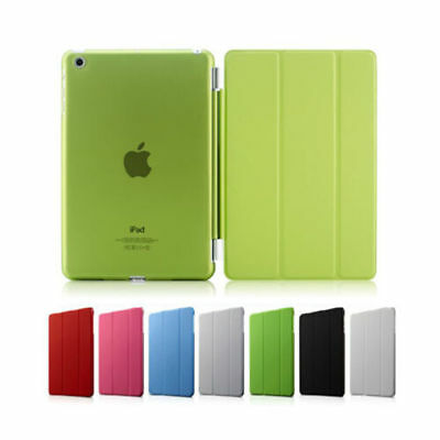 Housse Etui Smart Cover Ipad 2/3/4/5 Air&pro&ipad Mini + Coque Arriere & Stylet