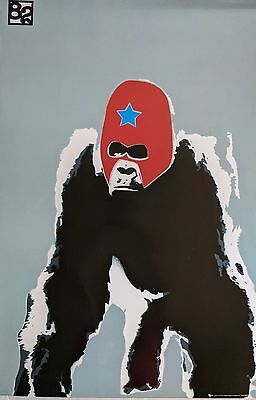 Gorilla  Masked Graffiti Style 82 91.5 X 61Cm Poster New Official Merchandise