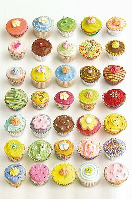 Howard Shooter - Cupcakes  91.5 X 61Cm Poster New Official Merchandise