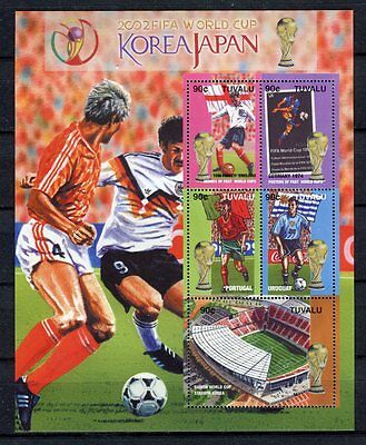 s7501) TUVALU 2002 MNH** WC Football - CM Calcio S/S