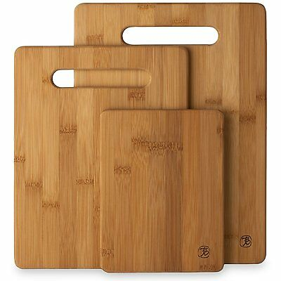 Totally Bamboo 20-7930 3-Piece Cutting Board Set (20-7930)  FREE SHIPPING CXX