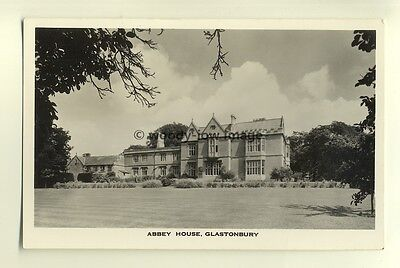 tp7627 - Somerset - The Abbey House Hotel and Grounds, in Glastonbury - postcard