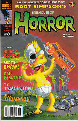 BART SIMPSON'S TREEHOUSE OF HORROR 8...NM...2002...Halloween Special!...Bargain!