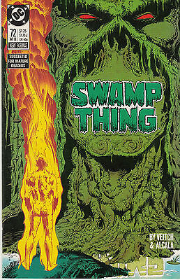 SWAMP THING (Vol.2) #72...NM-...1988...Featuring John Constantine!...Bargain!