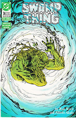 SWAMP THING (Vol.2) #74...NM-...1988...Rick Veitch...Bargain!