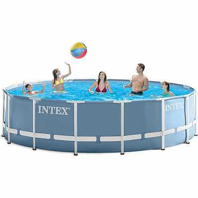 Intex 12ft x 30in PRISM FRAME Swimming Pool - NEW FOR 2017