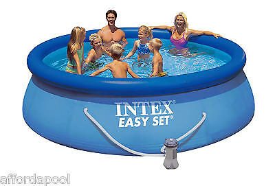 Intex 12ft Easy Set Swimming Pool With Filter Pump #28132