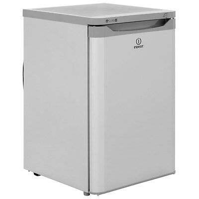 Indesit TZAA10S Free Standing 77 Litres A+ Under Counter Freezer Silver New