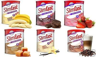 3 SlimFast Diet Powder Shake Can Weight Lose Replacement Meal Milkshake Fitness