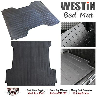 """50-6355 Westin Rubber Truck Bed Mat Liner Ford F150 5'6"""" Bed 2015-2019"""