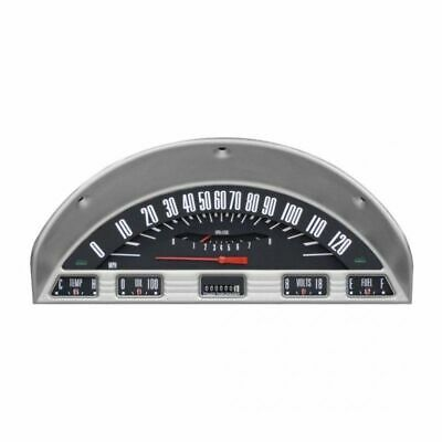 Classic Instruments 1956 Ford F-100 Truck Dash Gauge Package - Black - Complete