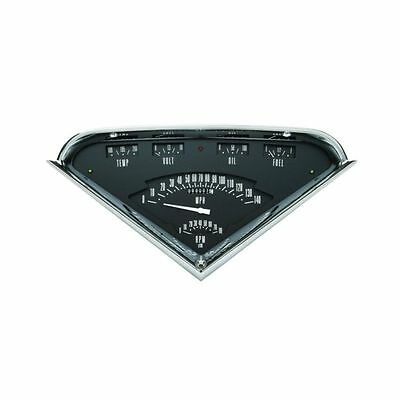 Classic Instruments 1955-1959 Chevy Truck Tach Vintage Gauge Package - Black
