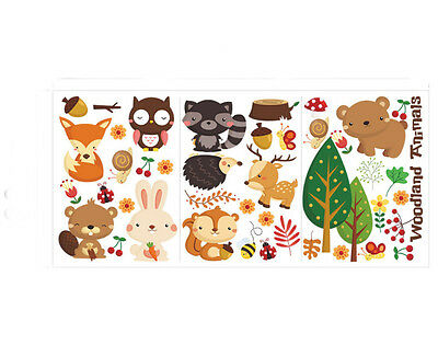 2016 New Cute Animal style Children's Room Wall Stickers