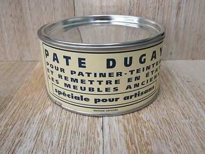 Pate Dugay Antique Restoration Wax - France - Orange Brown - Rustique Dore