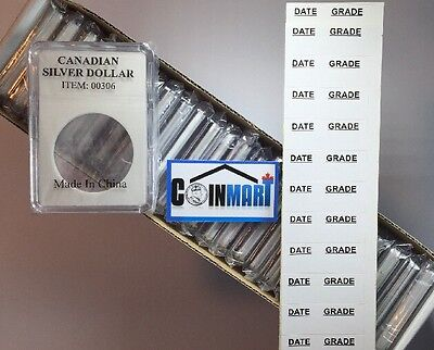 Box Of 25 Coin Slab Holders For Canadian Silver Dollars