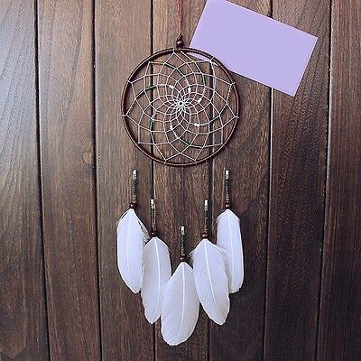 Dream Catcher Net With Feathers Wall Car Hanging Decoration Decor Ornament Gifts