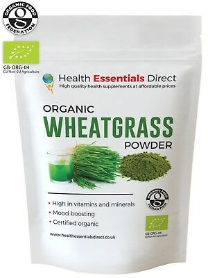 Organic USA Wheatgrass powder - Dark Green (Chlorophyll, Detox) -  Choose Size: