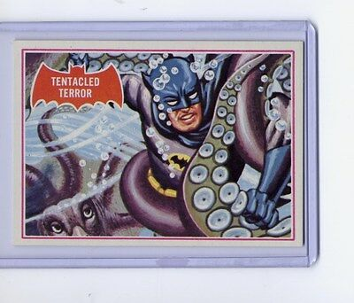 1966 Topps Batman (Red Bat)  #8A NM- Puzzle Back