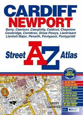 A-Z Street Atlas of Cardiff and Newport (Street Maps & Atlases) By Geographers'