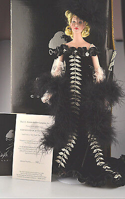 1998 Robert Tonner Edith Head Lady Lou She Done Him Wrong Porcelain Doll In Box