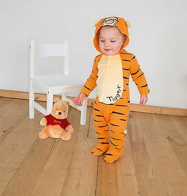 Disney Baby Tigger Romper Jersey 12-18mths - Toddler Babies Costume Outfit
