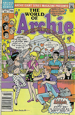 The Archies Visit EXPO 86 in Vancouver No. 565  RARE!