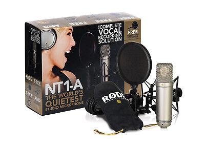 RODE NT1A Condenser Microphone Pack for Studio Recording
