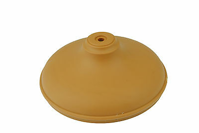 "Linic 2 x Light Brown Round Fence Post Cap Finial 4"" 100mm Caps UK Made GT0038"