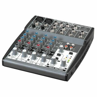 Behringer XENYX 802 8 Input PA Mixer with Mic Preamps