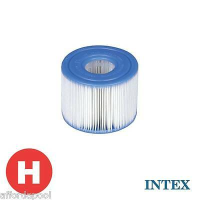 INTEX Type H Swimming Pool Filter Cartridge TWIN PACK  #29007