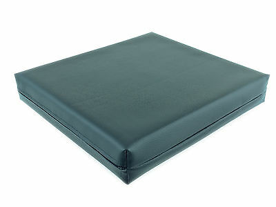 Pressure Relief Memory Foam Comfort Cushion Vinyl Wheel Chair Seat - 16 x 16 x 3