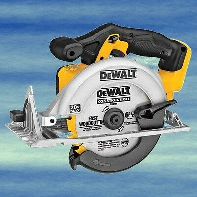 DEWALT 20V Li-Ion Cordless Circular Saw Carbide Tipped Blade Lightweight #4608