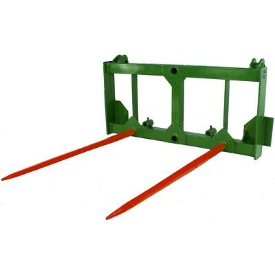 "Titan 49"" HD Hay Spear Attachment Stabilizers Fits John Deere 200 300 400"
