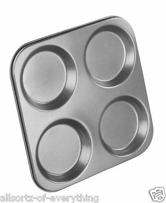 Brand New Non Stick Yorkshire Pudding Tray 4 Cup Tin