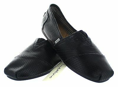 41dc62883f3 JOY & MARIO Mens Leather Alpargatas Slip-on Loafer Espadrille Flat Shoes  Black