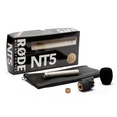 Rode NT5 Condenser Microphone for Live Instrument Recording