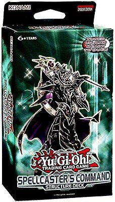 YuGiOh Spellcaster's Command Structure Deck by Konami Collectible Trading Cards