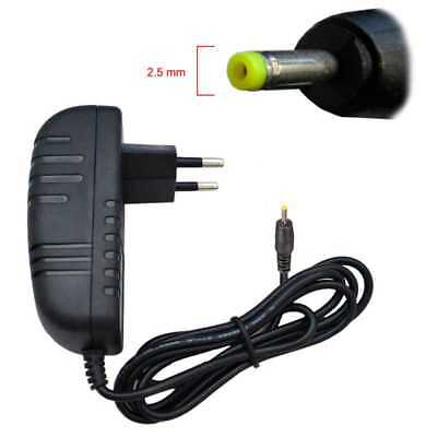 Cargador Tablet Conector 2.5 mm 5V Cargador Enchufe de Pared Cable Enchufe