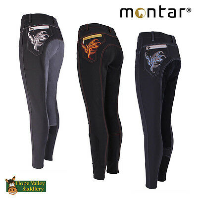 Montar Paillet Embroidery Childrens Full Seat Breeches (2061) - Sale **BNWT**